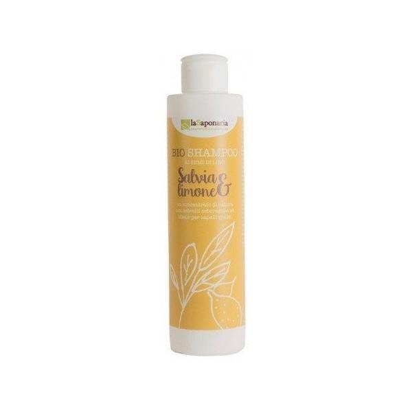 laSaponaria Šampon se šalvějí a citrónem BIO 200 ml