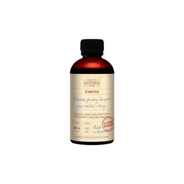 Havlíkova přírodní apotéka Cibulovo fazolový šampon na světlé vlasy (200 ml)