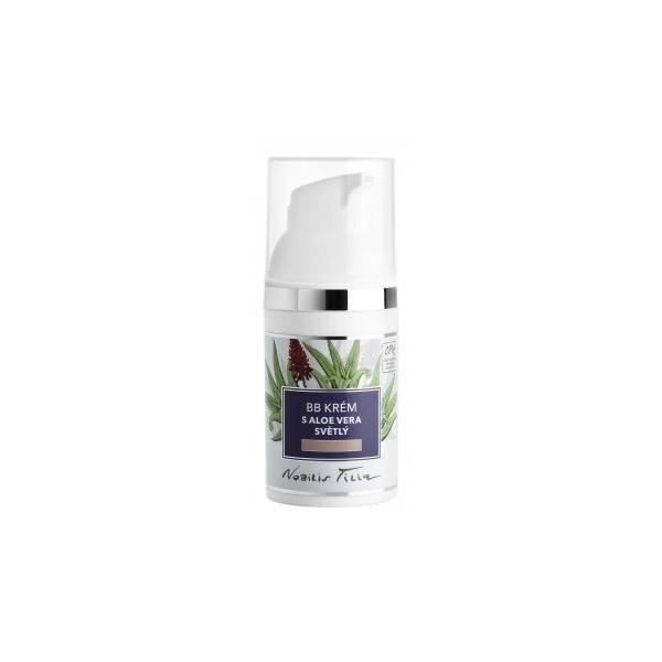 Nobilis Tilia BB krém s Aloe vera - světlý (30 ml)