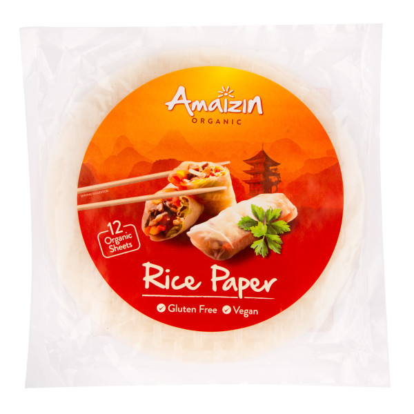 Rýžový papír BIO   AMAIZIN