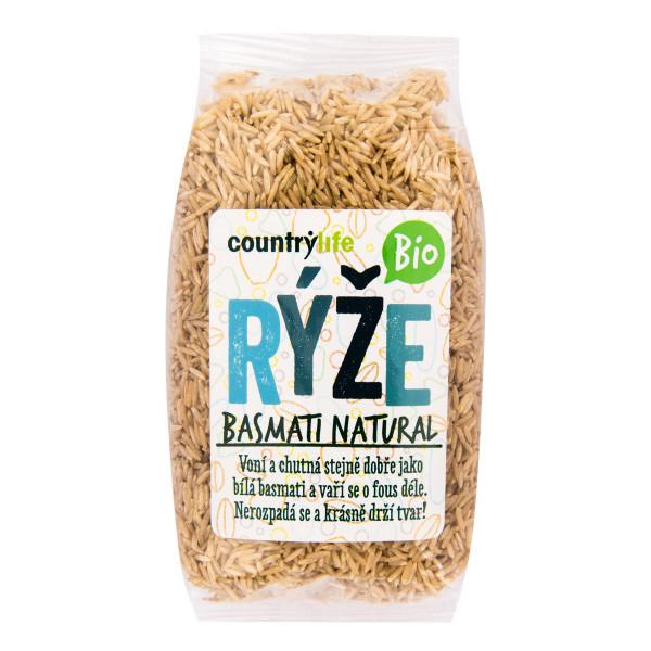 COUNTRYLIFE Rýže basmati natural BIO