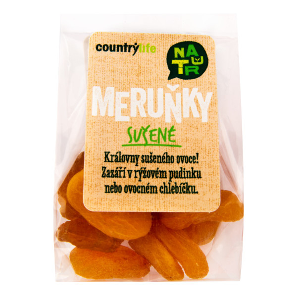 COUNTRYLIFE Meruňky sušené 100g