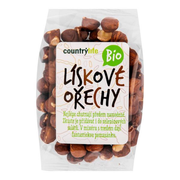 COUNTRYLIFE Lískové ořechy BIO