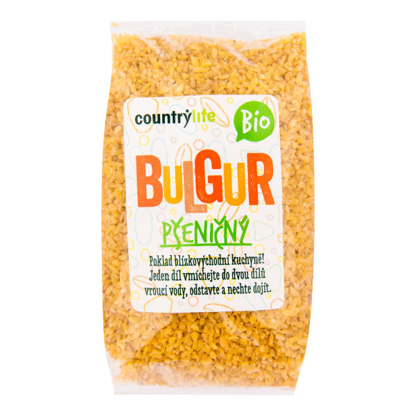 COUNTRYLIFE Bulgur pšeničný 500g BIO