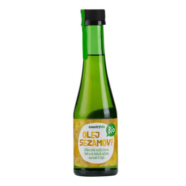COUNTRY LIFE Olej sezamový BIO