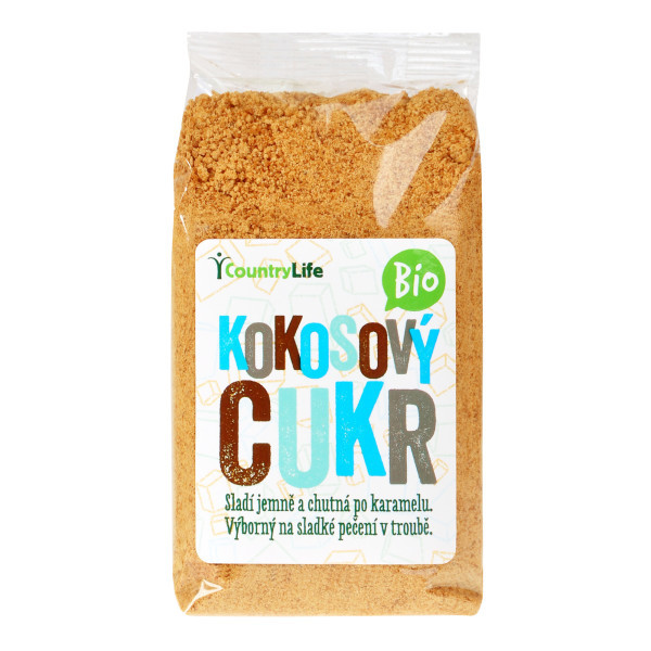 COUNTRY LIFE Cukr kokosový BIO