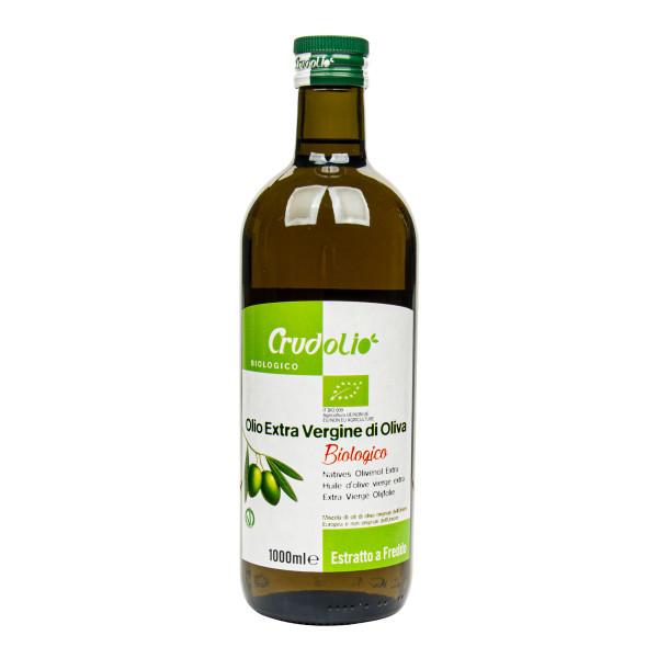 CRUDOLIO Olej olivový 1 l BIO