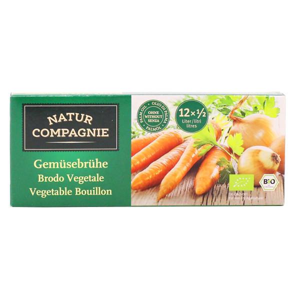 NATURCOMPAGNIE Bujon zeleninový kostky BIO