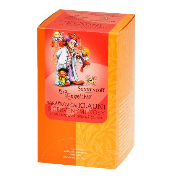 SONNENTOR Raráškův čaj klauni s červenými nosy BIO