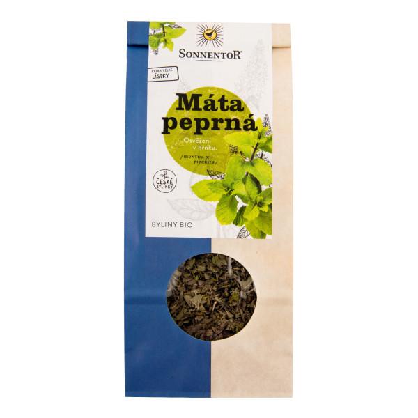 SONNENTOR Čaj Máta peprná sypaný BIO