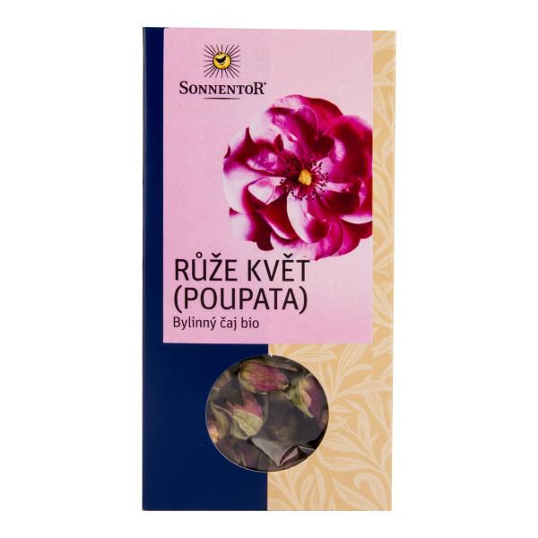 SONNENTOR Čaj Růže květ sypaný BIO