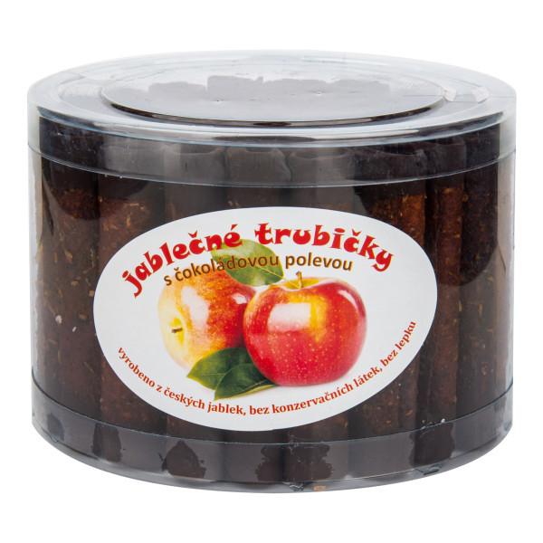 Trubičky jablečné s čokoládou dóza 540g   B. PRODUKT