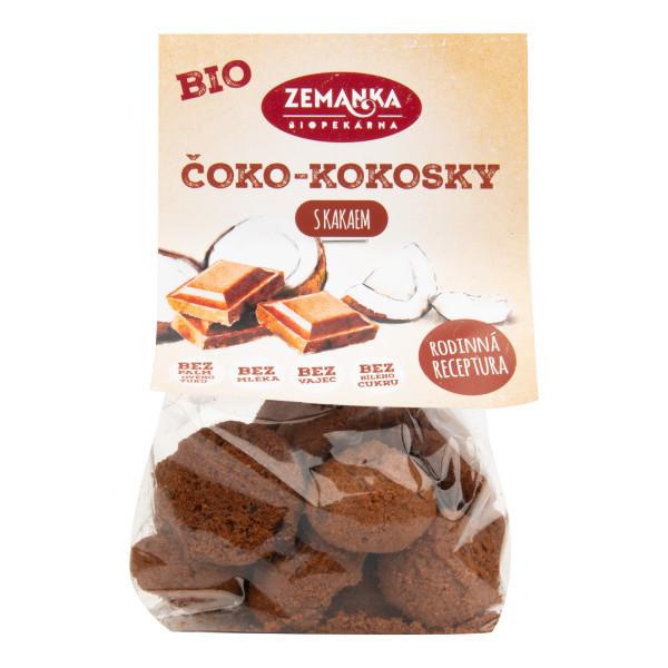 ZEMANKA Čoko - kokosky s kakaem BIO