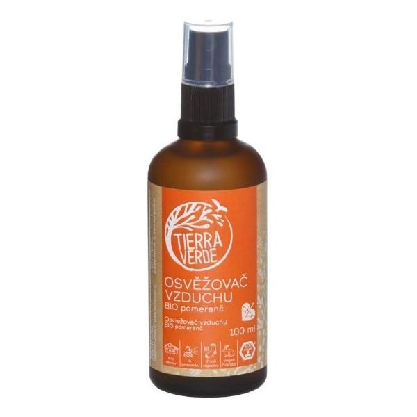 Tierra Verde Osvěžovač vzduchu BIO pomeranč (100 ml)