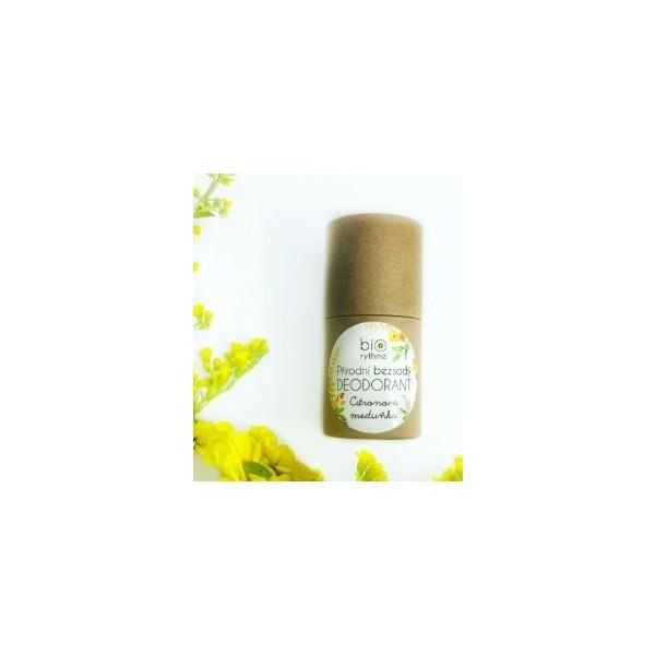 Biorythme BEZSODÝ deodorant Citronová meduňka, papírový obal