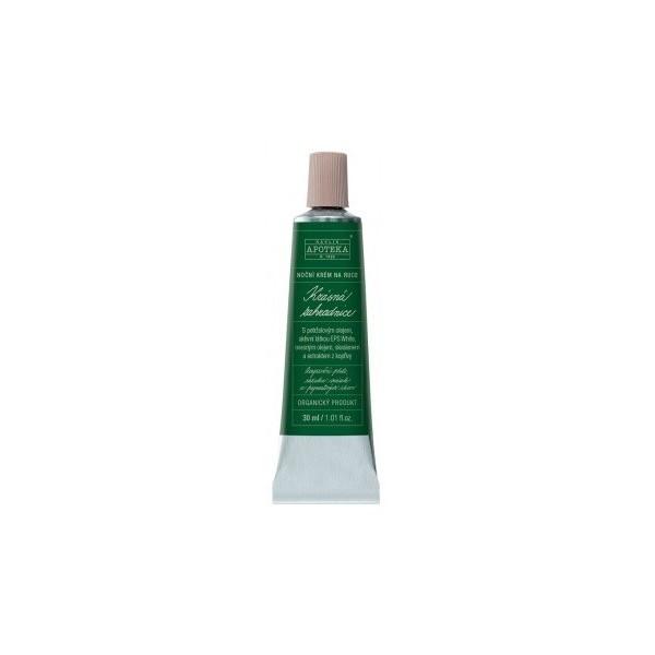Havlíkova přírodní apotéka Krásná zahradnice - noční krém na ruce (30 ml)