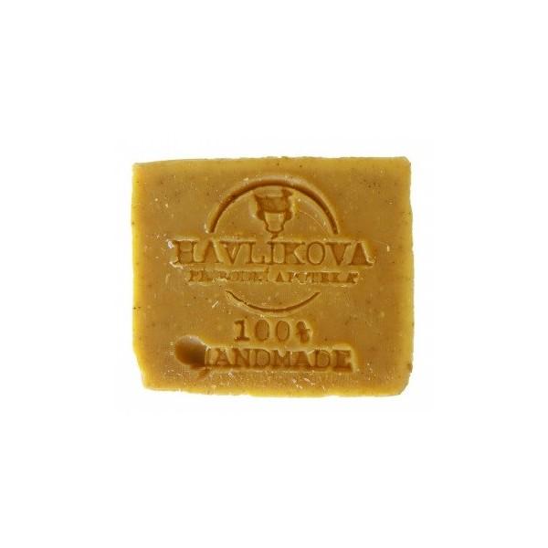 Havlíkova přírodní apotéka Zjemňující a zklidňující olejové mýdlo rakytník (85 g)