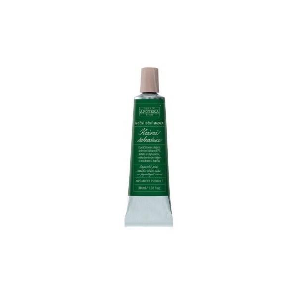 Havlíkova přírodní apotéka Krásná zahradnice - noční oční maska (30 ml)