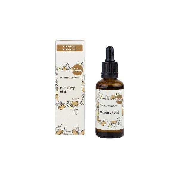 Kvitok Mandlový pleťový olej 50 ml