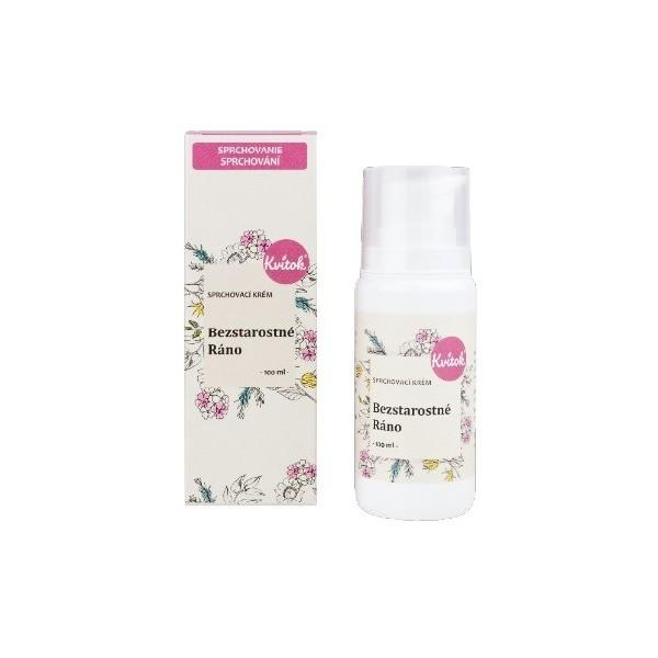 Kvitok Přírodní sprchový krém - Bezstarostné ráno 100 ml
