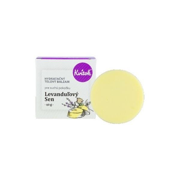 Kvitok Hydratační tělový balzám - Levandulový sen 40 ml