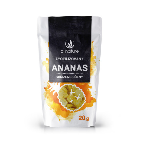 Allnature Ananas sušený mrazem kousky