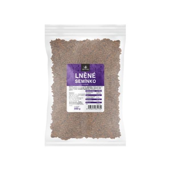 Allnature Lněné semínko hnědé