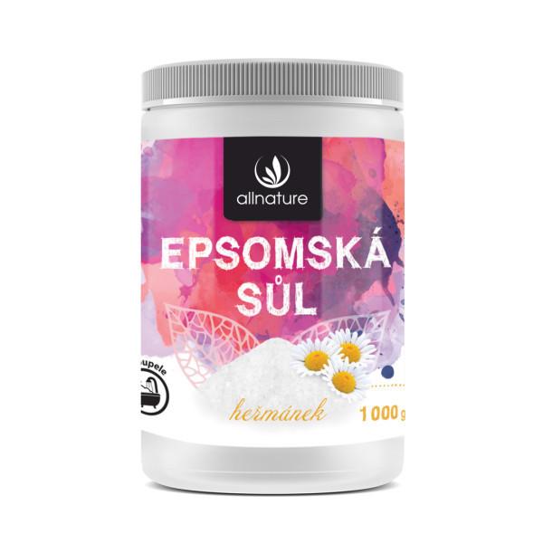 Allnature Epsomská sůl Heřmánek