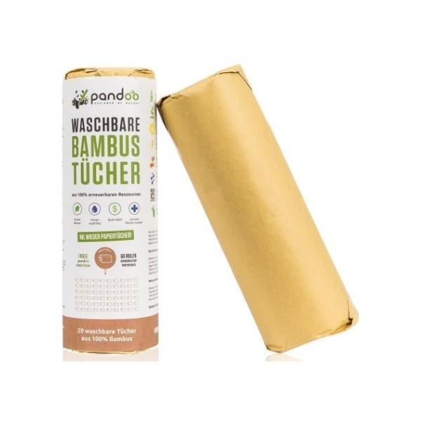 Pandoo Pratelné bambusové utěrky