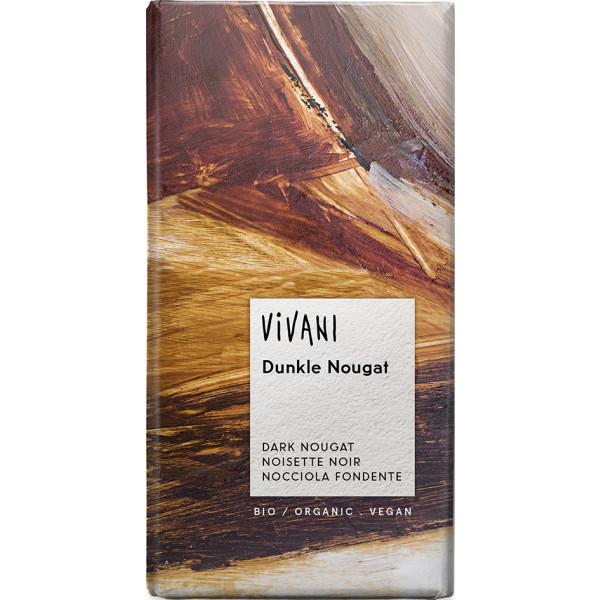 VIVANI Hořká čokoláda nugátová BIO