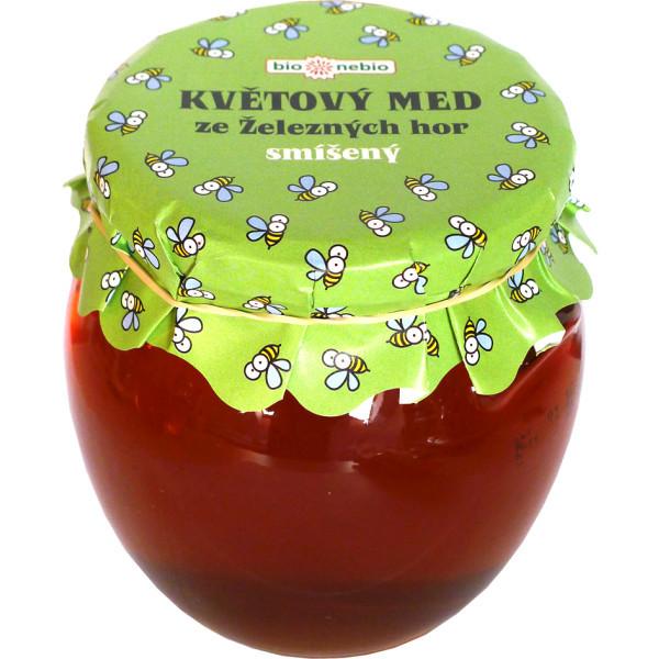 bio*nebio  Květový med ze Železných hor smíšený 650 g