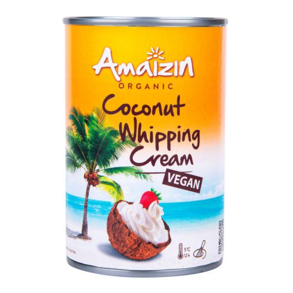 BIO Krém kokosový na šlehání AMAIZIN