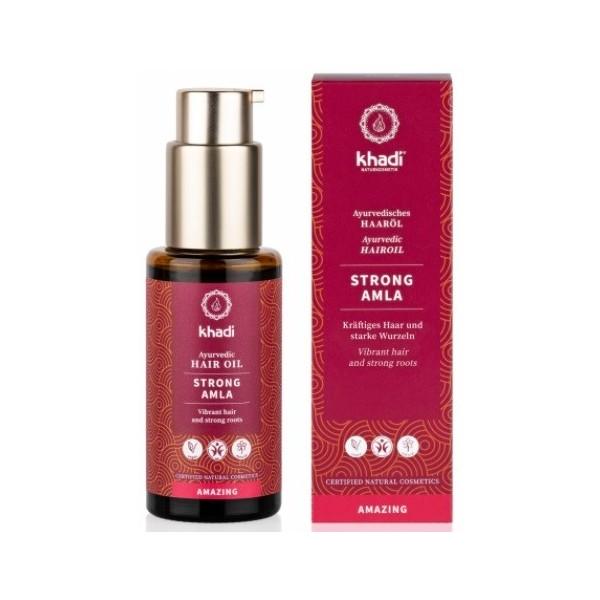 Khadi vlasový olej MOCNÁ AMLA (50 ml)