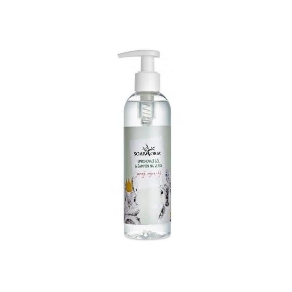 Soaphoria BABYPHORIA Organický sprchový gel a šampon na vlasy pro děti 250 ml