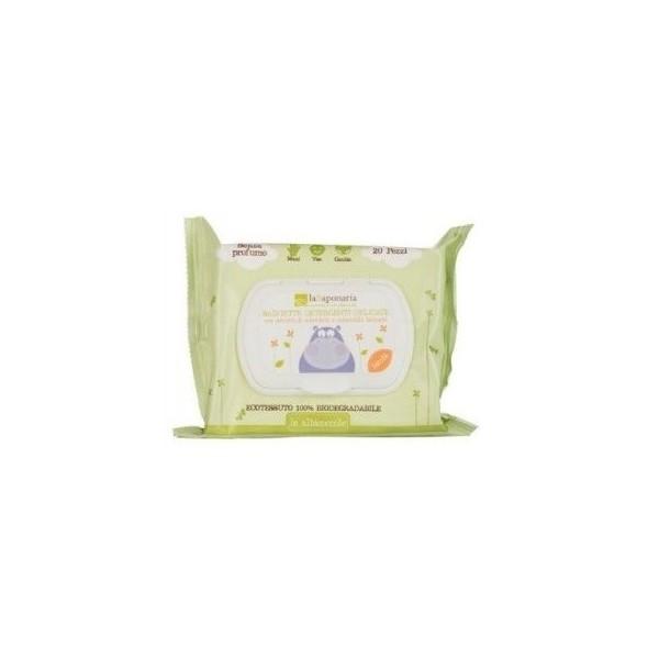 laSaponaria Dětské vlhčené hygienické ubrousky BIO