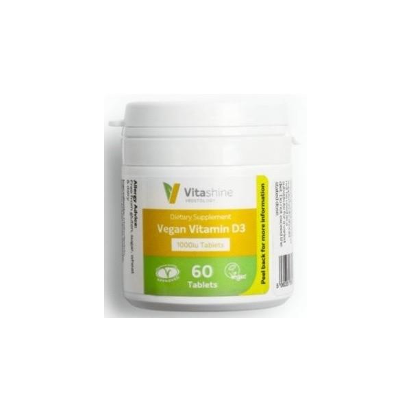 Vegetology VitaShine Vitamin D3 1000 IU