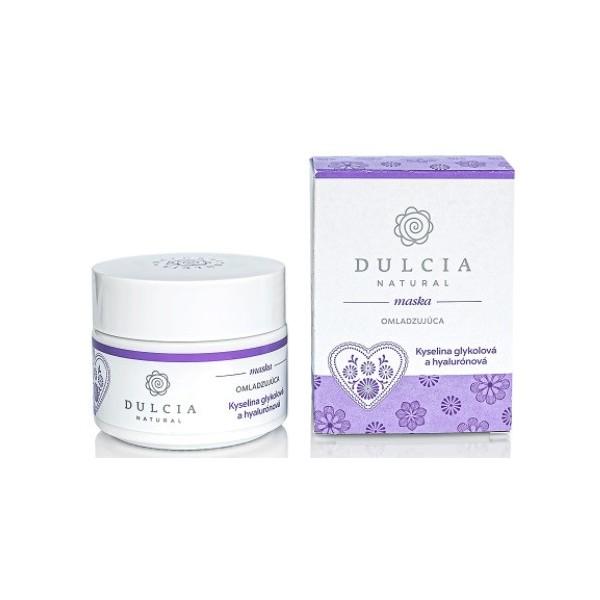 Dulcia natural Omlazující maska - kyselina glykolová a hyaluronová 100 ml