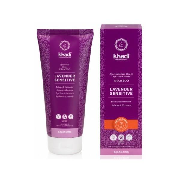 Khadi Elixír šampon Levandule Sensitive (200 ml)