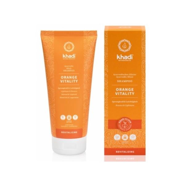 Khadi Elixír šampon Pomeranč Vitalita (200 ml)