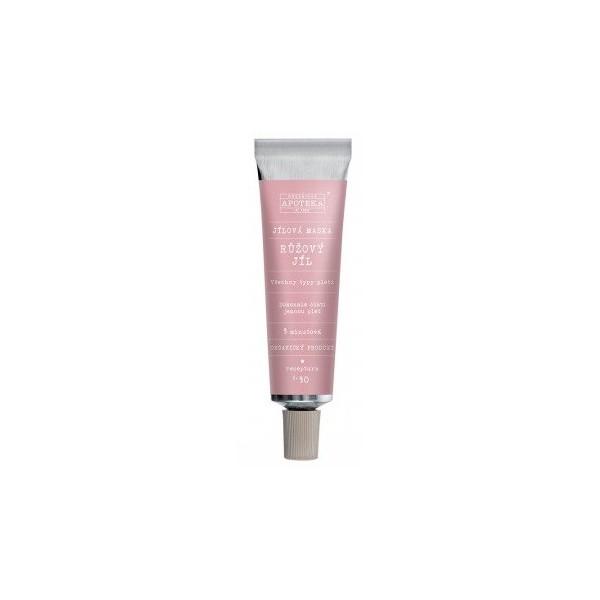 Havlíkova přírodní apotéka, maska Růžový jíl (30 ml)