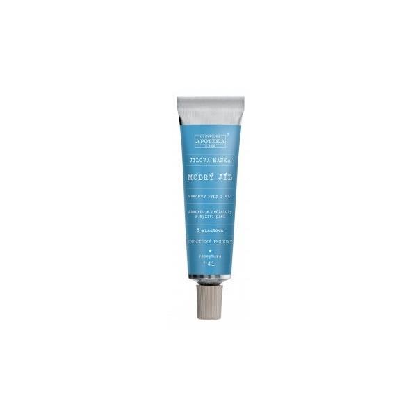 Havlíkova přírodní apotéka, maska Modrý jíl (30 ml)