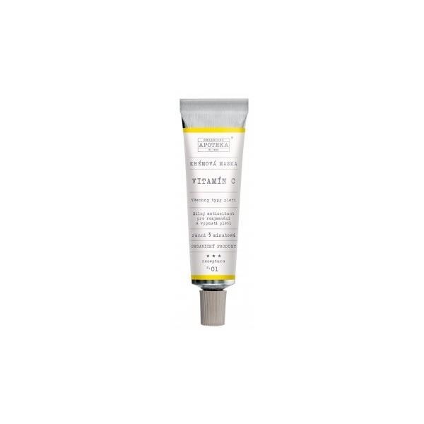 Havlíkova přírodní apotéka Krémová maska Vitamín C (30 ml)