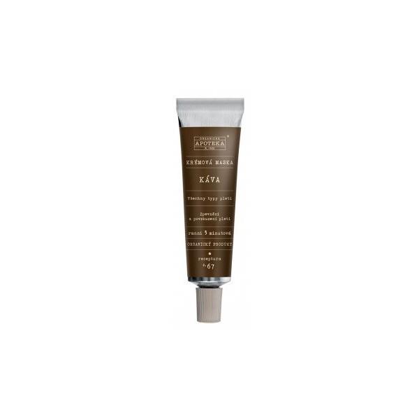 Havlíkova přírodní apotéka Krémová maska Káva (30 ml)