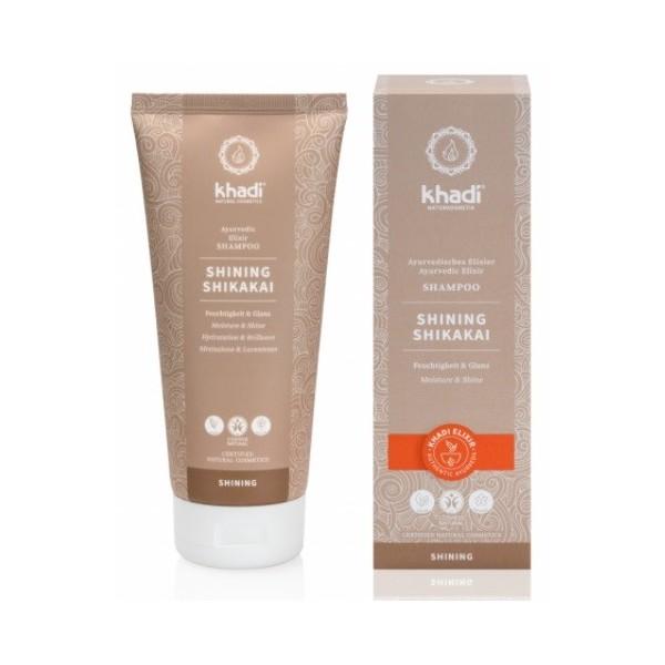 Khadi Elixír šampon Shikakai Lesk (200 ml)