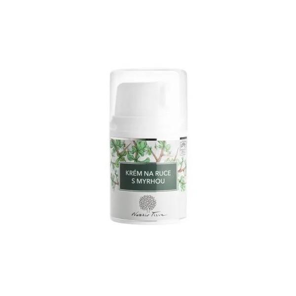 Nobilis Tilia Krém na ruce s myrhou (50 ml)