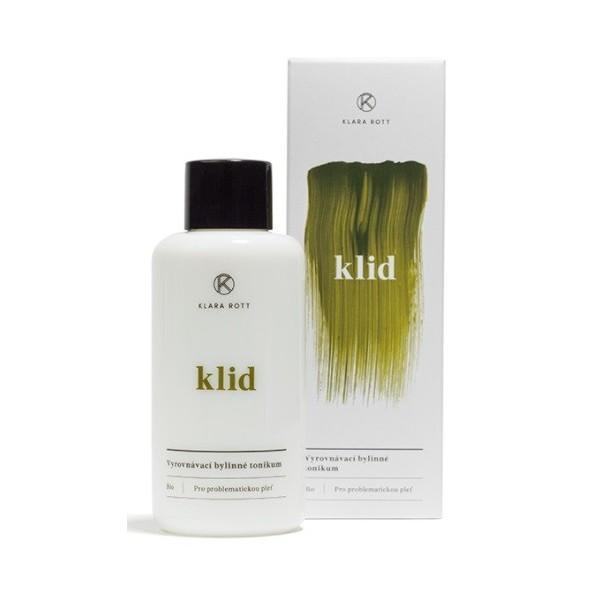 KLARA ROTT Klid - Vyrovnávací bylinné tonikum (pro problematickou pleť) 100 ml