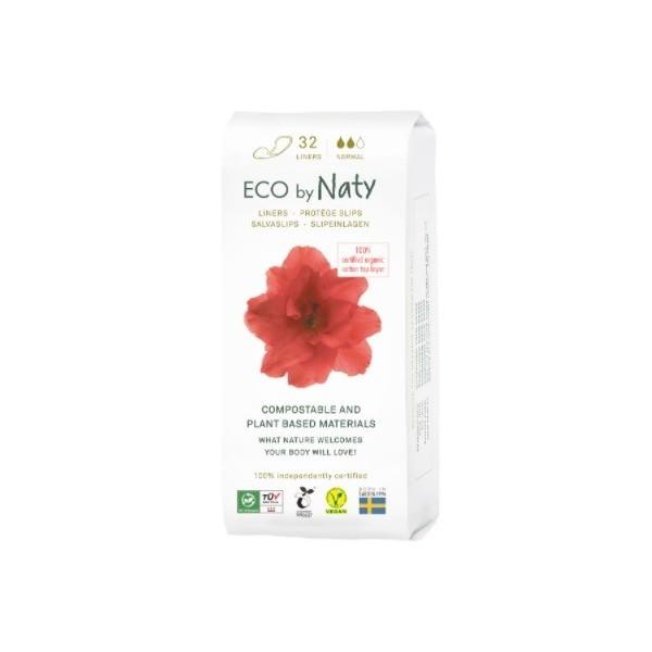 Naty ECO slipové vložky - normal