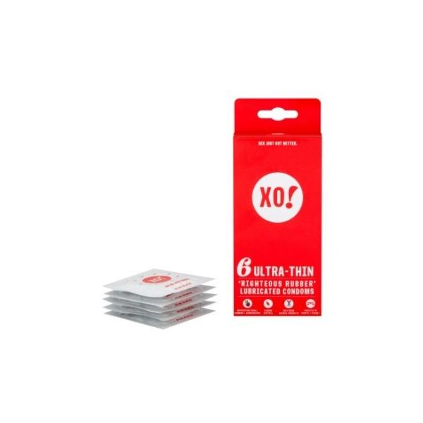 XO! Kondom z přírodního latexu Ultra thin
