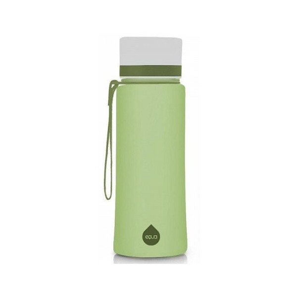 EQUA Plastová lahev Plain Olive bez BPA