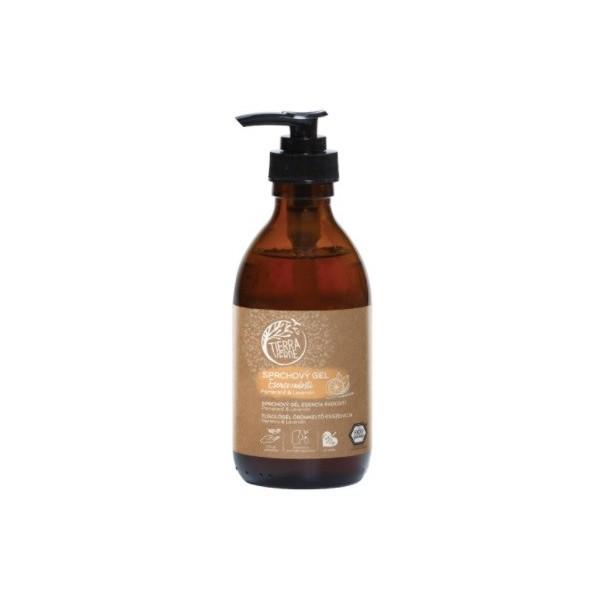 Tierra Verde Sprchový gel Esence radosti – Pomeranč & Lavandin (230 ml)